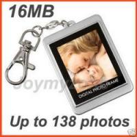 Buy cheap 10 PCS Lots Digital Photo Frame Keychain 1.5 Wholesale from Wholesalers