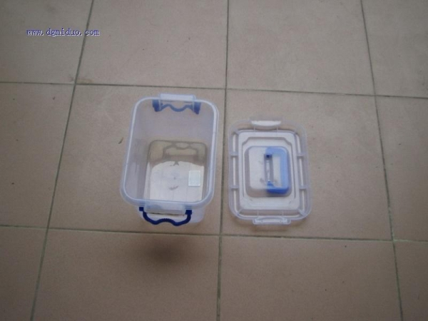 China Plastic storage box Product name:white color plastic storage box factory
