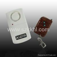 Buy cheap White Vibration Anti Theft Burglar Alarm with Remote Control(KK108) from Wholesalers