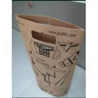 Buy cheap Laminated Paper Bag(38) Die cut handle paper carrier bag from Wholesalers