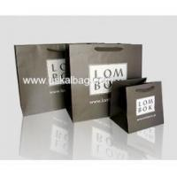 Buy cheap Matt laminated paper shopping bag from Wholesalers