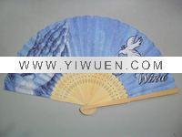 China Bamboo Crafts(285) Personal Chinese bamboo craft fan for gift on sale