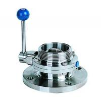 Buy cheap Single flange single threaded butterfly valve from Wholesalers