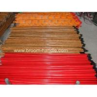 Quality PVC coated wooden broom handle 18 wholesale