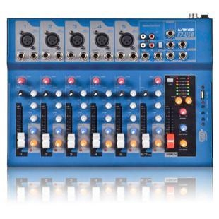 China Pro-Mixer series 2014 The cheapest prices microphone mixer- F7 Mixer factory
