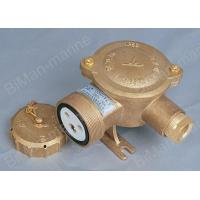 Buy cheap Marine Electric Connectors Marine brass socket with switch CZKH201 from Wholesalers