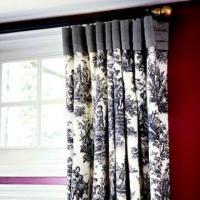 Buy cheap Drapery Panels Pleated Header Flat Panels from Wholesalers
