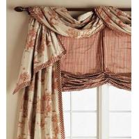Buy cheap Valances Details Casual Pole Swag with Banded Bottom Edge from wholesalers