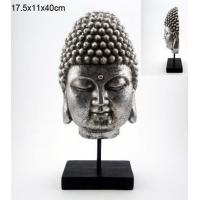 Resin Buddha Sculpture,Anti Silver