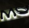 China Halo Light 3D Stainless Steel Letter for Outdoor Sign factory