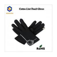 Buy cheap cotton lint touch screen glove for all touch screen device like smart phone and keep warm from Wholesalers
