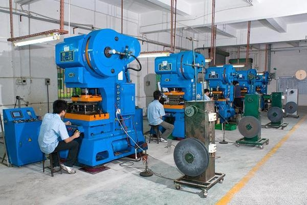 China High-speed stamping area factory