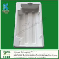 Buy cheap LED Light Packaging Trays, Molded Pulp Packaging Trays, Bagasse Packaging from Wholesalers