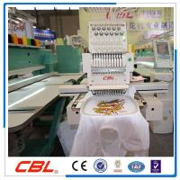 Buy cheap Model:CBL single head 12 needles cap embroidery machine from Wholesalers