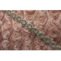 Buy cheap Newest shining bridal sash applique trimming for wholesale from Wholesalers