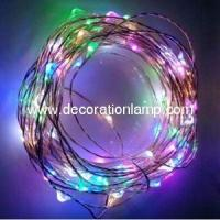 Wedding Favor Colorful Romantic Copper Wire Light