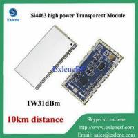 10km long distance 1W 31dBm Si4463 high power rf transparent transceiver module