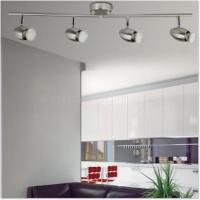 China Spot lights 4lt satin nickel GU10 3W spot light 4lt satin nickel GU10 3W spot light on sale