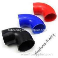 "Buy cheap 4"" to 3"" Black 90 degree Reducer Elbows Silicone Hose 102mm to 76mm from Wholesalers"