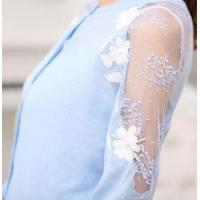 Buy cheap Women 2015 spring summer sexy knitwear lace cardigan from Wholesalers