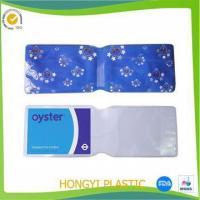 China STATIONERY pvc oyster card holder factory