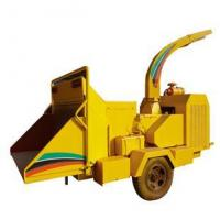 Buy cheap Diesel engine mobile wood chipper from Wholesalers
