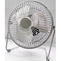 "Buy cheap Chrome usb metal portable desk fan AC or DC motor -4"", 6"" from Wholesalers"