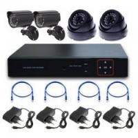 4chs 720P economic nvr Kits