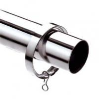 Buy cheap Curtain Rods & Hardware Chrome Curtain Pole 100cm-600cm from Wholesalers