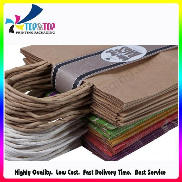 China Kraft Paper Shopping Bag factory