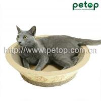 Buy cheap Cat Scratcher PT1009 Recycled paper Corrugated cat scratcher lounge Cat Bed from Wholesalers