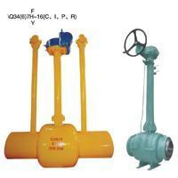 Buried (buried) type of all welded ball valve