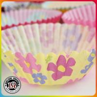 Party Paper Baking Cupcakes