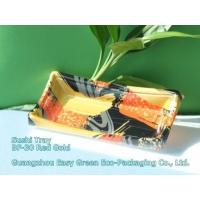Buy cheap Sushi Tray BF-30 Red Gold from wholesalers
