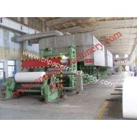 Buy cheap Writing Paper Making Line 1575-4800 from Wholesalers