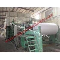 Buy cheap Newspaper Making Line 2100 from Wholesalers