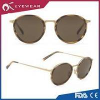 Buy cheap Cool Retro Fashion Metal Round Frame Sunglass Vintage from Wholesalers