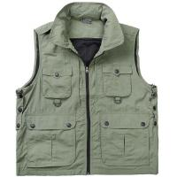 Buy cheap Worker &Protective Wear Leisure multi-pocket vest for men from Wholesalers