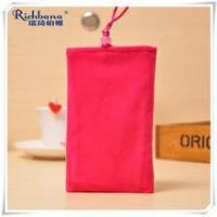 RUIQI hang neck red mobile gift pouches