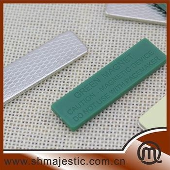 China Wholesale Green Plastic Magnetic Clip For Clothes factory