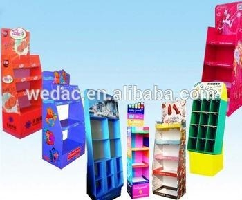 China Display stands Supermarket card displays factory