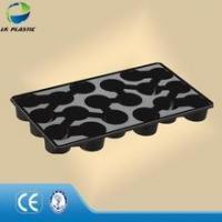 Quality 18 first grade PS plastic material plant tray plant nursery seed tray wholesale