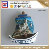 Buy cheap Popular Stylish Decoration Customized 3D Resin Country Souvenir Fridge Magnets from Wholesalers