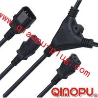 Buy cheap one to Two connectors,power cord,power cord three-way connector from Wholesalers