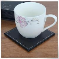 Buy cheap &Travel Organizer Leather bear coaster in black from Wholesalers