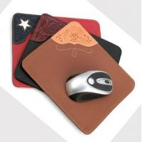 Buy cheap &Travel Organizer classical pu leather mouse pad from Wholesalers