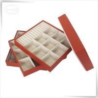 Buy cheap faux leather jewelry tray from Wholesalers