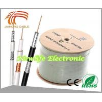 Buy cheap 75ohm RG6 Coaxial Cable CCS/60% Coverage 1000FT from Wholesalers