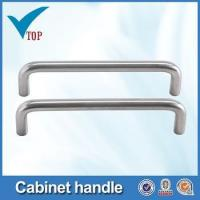 Buy cheap Stainless steel pipe handle for furniture drawer from wholesalers