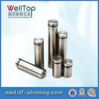 Buy cheap manufacturer stainless steel advertising screws standoff vt-18.020 from wholesalers